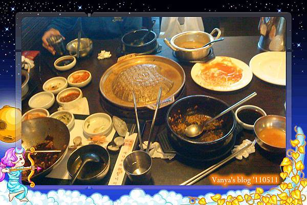 高雄夢時代之韓味煮藝-享用完的桌面