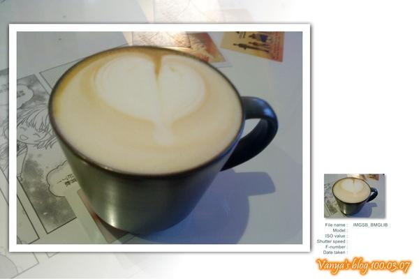 高雄咖啡林-穎點的原味熱卡布奇諾
