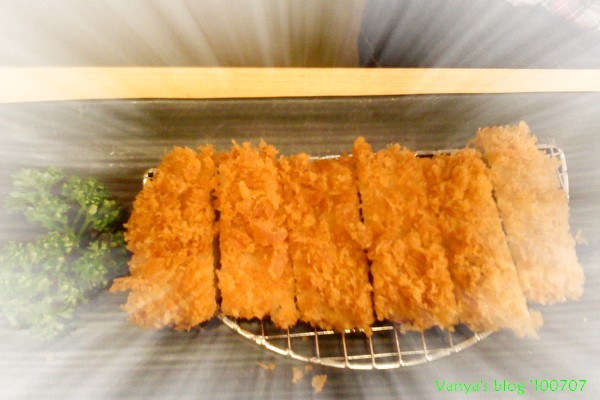 漢神巨蛋勝博殿-毛毛的酥嫩腰肉豬排套餐