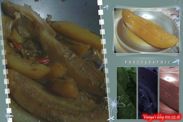 老媽煮的燉木瓜,軟嫩好吃