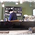 咖啡料理台