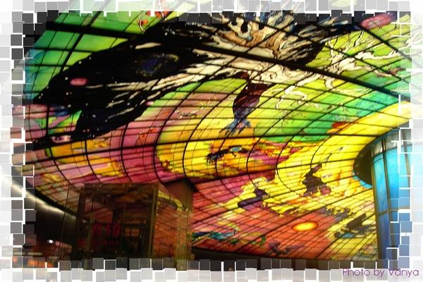 美麗島站穹頂燈光