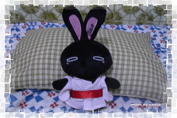 和服小黑兔