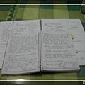 新&舊筆記本內頁