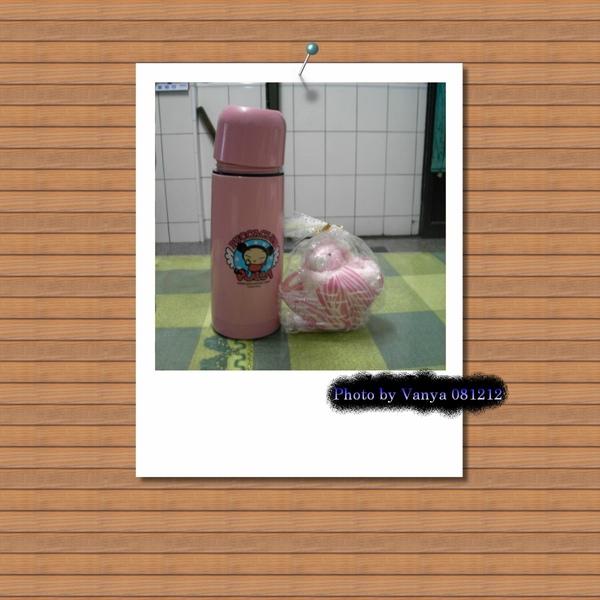 PUCCA瓶和兔毛巾