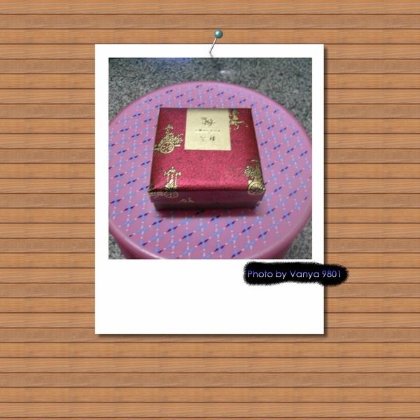 皇樓禮盒的小糖果盒