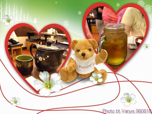 玄米茶和烏龍茶