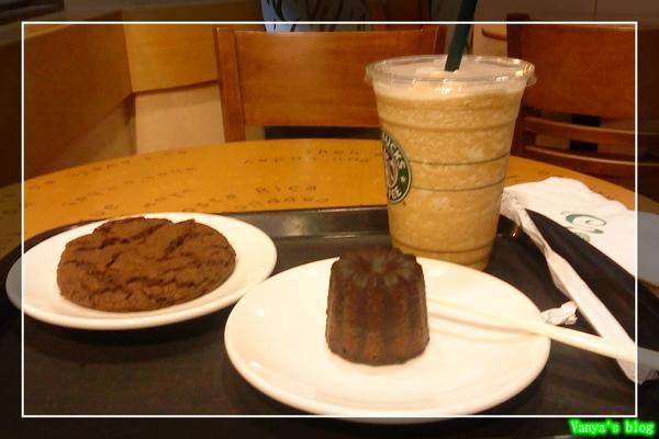 星巴克的咖啡星冰樂、可麗露與棉花糖巧克力