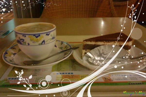布蘭奇咖啡館西子灣店,提拉米蘇與摩卡奇諾