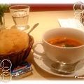 Afternoon Tea 餐前麵包與義式蔬菜濃湯