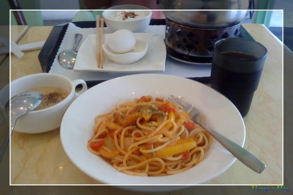 洋角餐館之迷迭香雞柳義大利麵