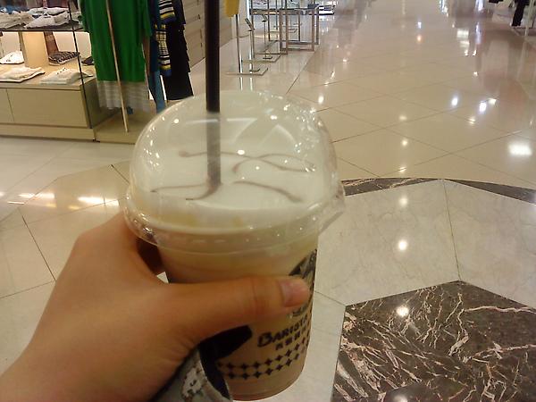 高雄漢神之西雅圖咖啡的冰娜蒂諾