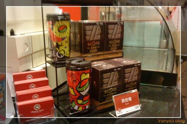 高雄漢神之西雅圖咖啡商品展示區