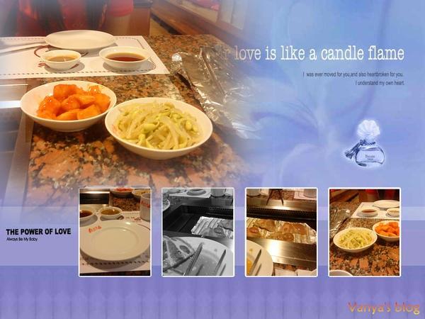 金漢城韓式料理店之餐點