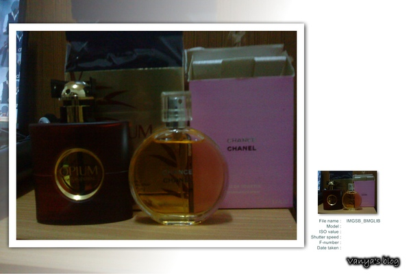 老爸上次從日本帶回來的CHANEL香水CHANCE