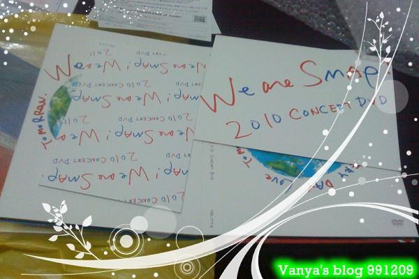 991209 發行的We are SMAP!2010 LIVE DVD-寫真照片