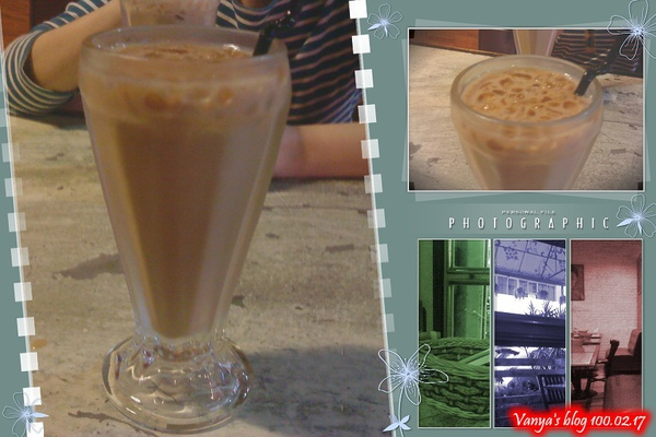 高雄幸福茶餐廳-鴛鴦奶茶,讚!