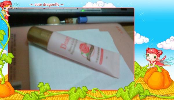 嘗試新的護唇膏,玫瑰香味