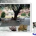 中山大學之廣場庭院休憩區