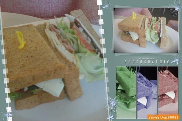 瑪琪朵朵-小雞點的燻雞肉三明治