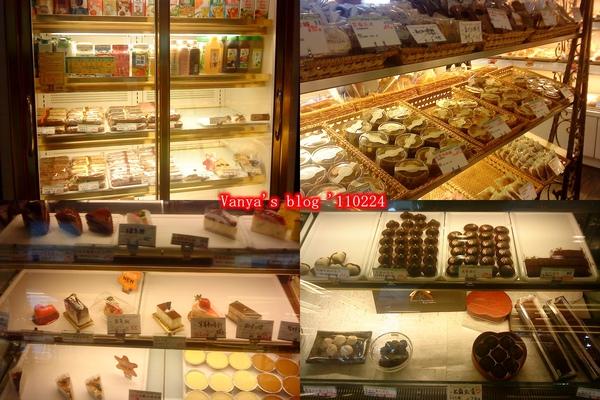 高雄烘樂夫法式烘焙坊,麵包擺放處、巧克力冷藏區等