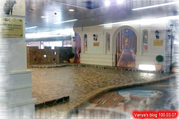 高雄美麗島捷運站內的藝術空間,近期完成的
