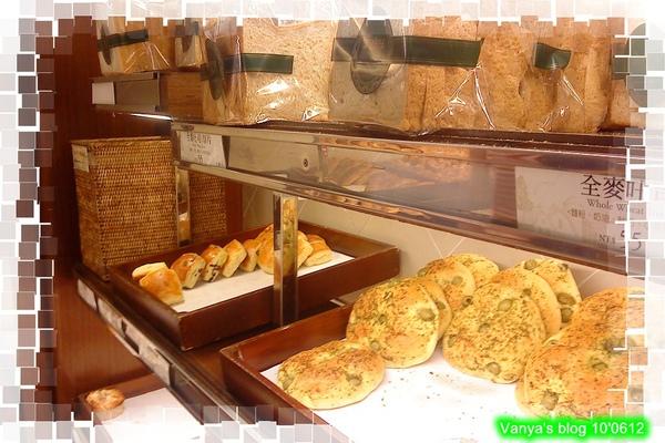 帕莎蒂娜麵包坊-麵包架