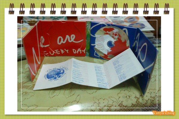 SMAP 2010 專輯內頁與歌詞單