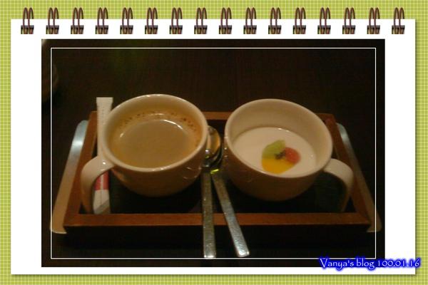 高雄中山品田牧場-穎的甜點之奶酪、熱咖啡