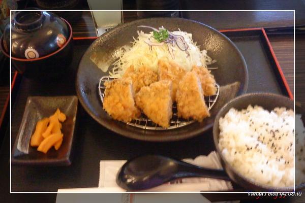 樹太老日式定食專賣店-穎的炸腰內豬肉定食