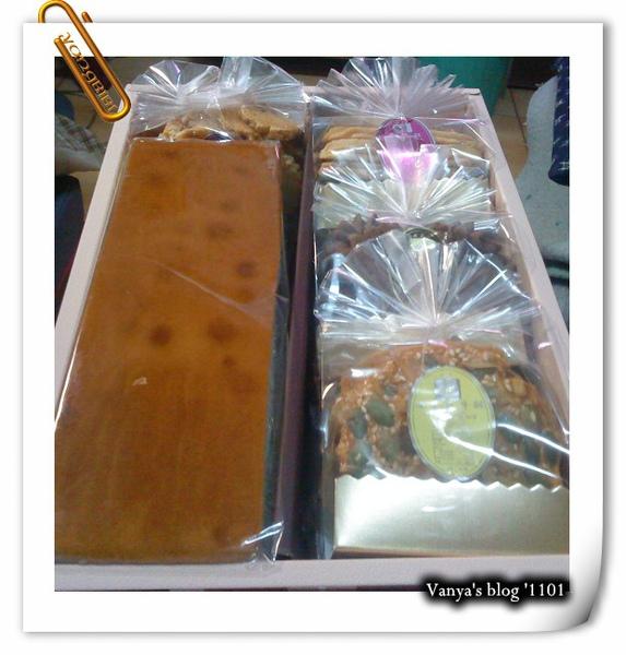 姑婆送的禮盒,蛋糕和西式餅乾