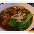 高雄幸福茶餐廳-新加坡肉骨茶麵近照