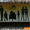 咖啡林咖啡0409-店內伙伴自己設計的小桌曆,很精巧