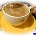 西雅圖咖啡之西西里肉醬焗洋芋附餐-美式咖啡