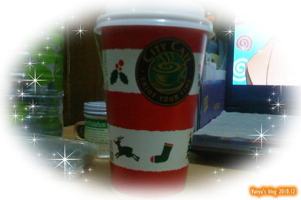 2010.12 7-11 city coffee 聖誕版