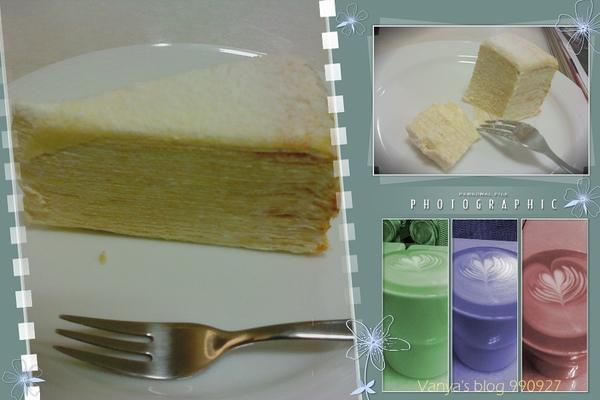大立本館 B1 之瑪琪朵朵-原味千層蛋糕,味道還不錯