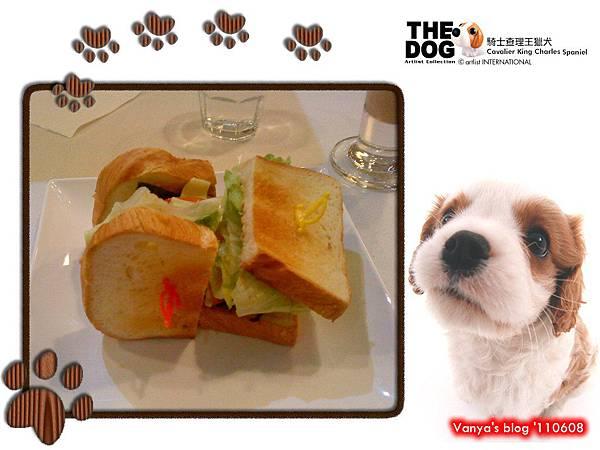 高雄 alwaya a+ 之穎點的丹麥三明治,煄雞口味