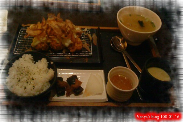 高雄中山品田牧場-穎點的章魚燒豬排餐