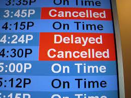 搭飛機班機延誤/取消