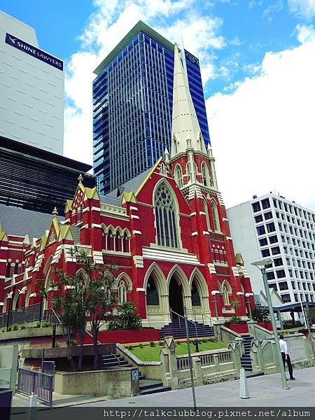 市政府對街的亞伯特教堂 Albert Street Uniting Church (1).jpg