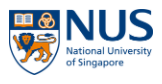 National University of Singapore 新加坡國立大學