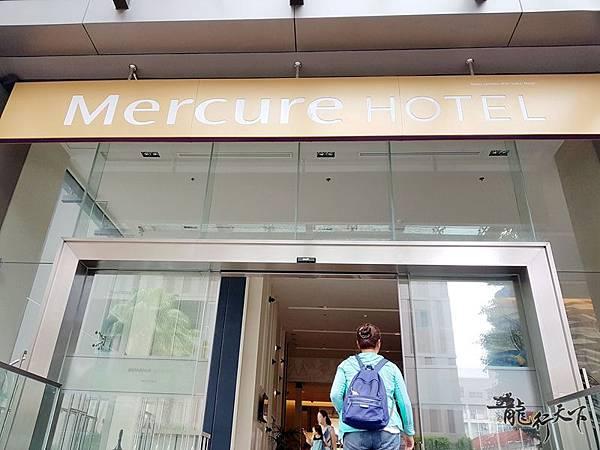 Mercure Hotel入口.jpg