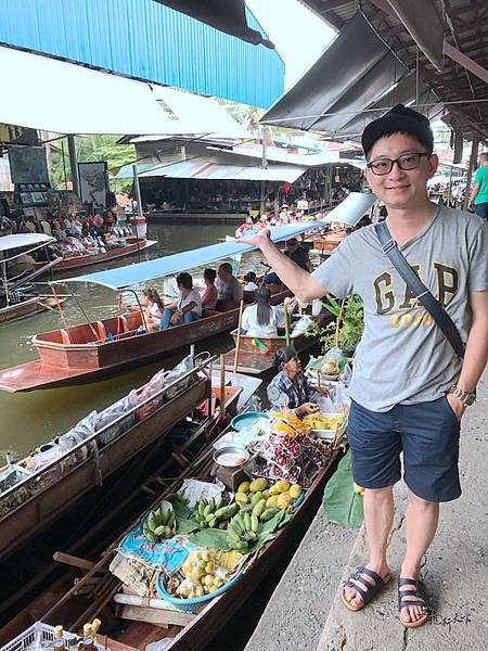 丹能沙朵水上市場Damnoen Saduak Floating Market  (31).JPG