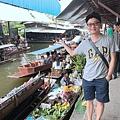 丹能沙朵水上市場Damnoen Saduak Floating Market  (30).JPG