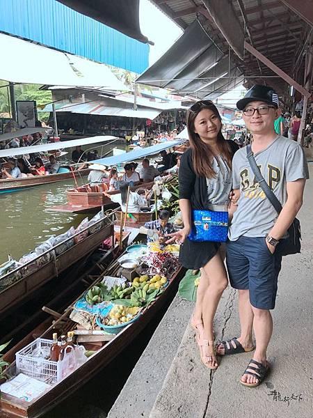 丹能沙朵水上市場Damnoen Saduak Floating Market  (29).JPG