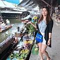 丹能沙朵水上市場Damnoen Saduak Floating Market  (38).JPG