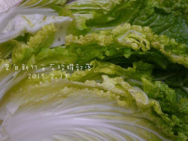 新竹尖石山上抬耀部落的用心栽種的青菜