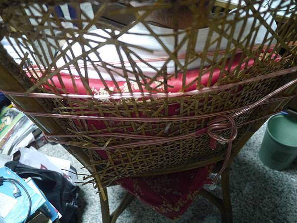 傳承的籐椅