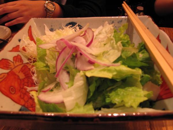 高麗菜絲&美生菜