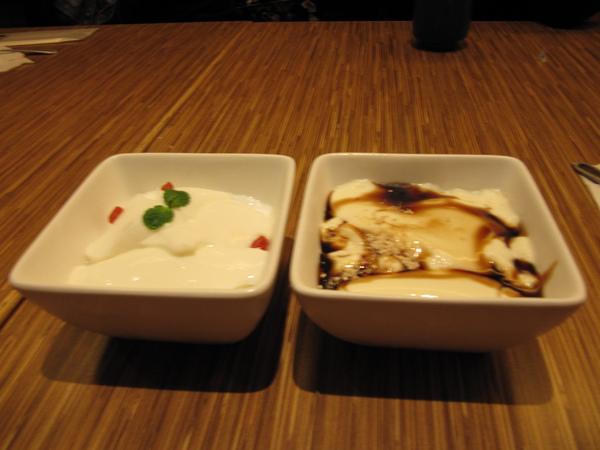 杏仁豆腐&日式豆奶布丁